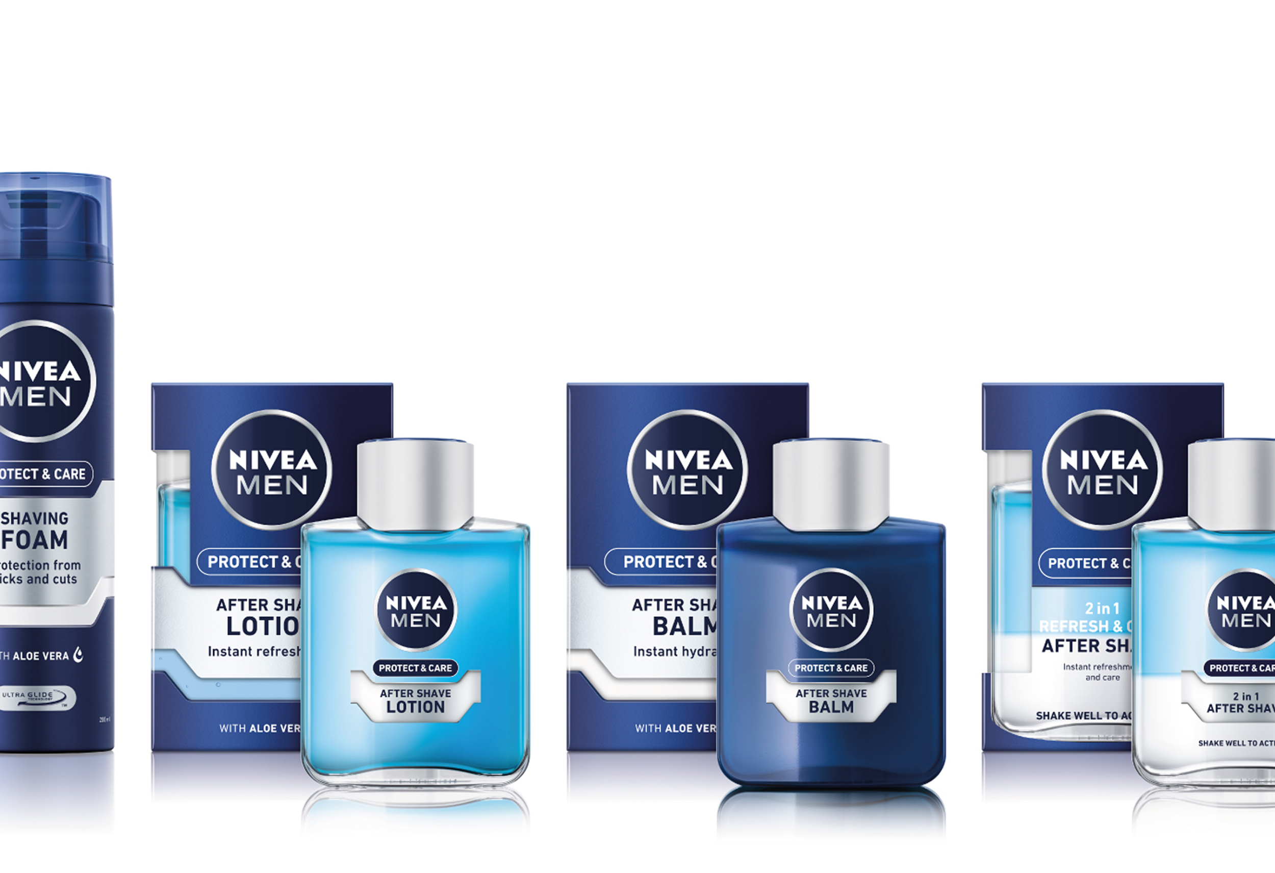 NIVEA MEN Sprache